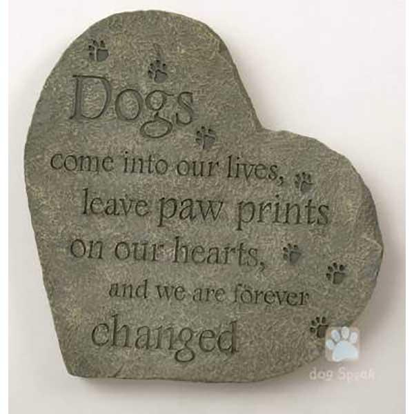 Paw Prints Pet Stepping Stone